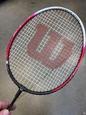 Used Wilson Titanium Series Ti. Comp badminton racquet