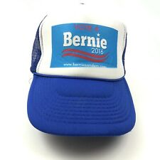 Neuf Bernie Sanders Camionneur Casquette Chapeau Réglable Un Taille Bleu Blanc