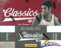 2010/11 Panini Classics Basketball Factory Sealed HOBBY Box-4 AUTOGRAPH/MEM