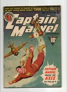Captain Marvel Adventures #17 VINTAGE Fawcett Whiz Shazam Comic Classic Cover