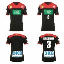 Kempa Dhb Alemania Balonmano Camiseta Fuera Negro WM 2019 También Gensheimer 3