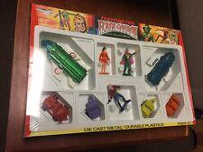 1978 Tootsietoy Flash Gordon Die Cast Metal Figures Ships Cars Mint Wrapped Box