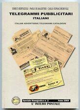 Telegrammi pubblicitari italiani. Bertolazzi, De Magistris, Sopracordevole.