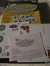 BUTTERFLY Dominoes Game Insect Lore Science Spring PreK+ Teacher Resource New!