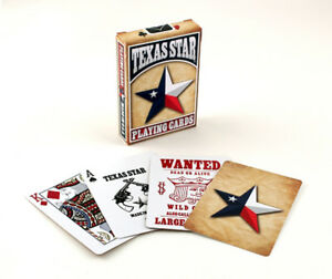 Bicycle Texas Star Playing Cards magic poker cardistry