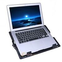 One Fan 2 USB Ports Adjustable Laptop Cooling Cooler Pad Stand For PC Notebook