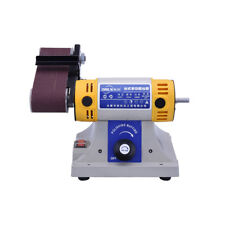 Electric Belt Sander Woodworking Metal Jade Polishing Grinding Machine 220V 320W