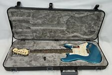 2018 Fender American Elite Stratocaster  Ebony Ocean Turquoise with Case