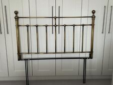 """Headboard Brass - Antique Gold For 4'6"""" Bed"""
