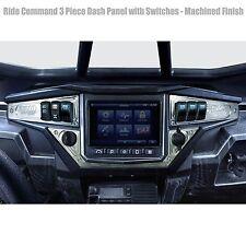 3 Piece 6 Switch Dash Panel Raw for 2017+ Polaris RZR XP1000 Ride Command Edi