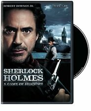 Sherlock Holmes: A Game Of Shadows (2012)  DVD  New, Free ship