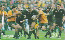 Scheda telefonica sport rugby