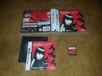 Emily the strange strangerous nintendo ds game boxed instructions