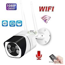 Outdoor Wifi 1080P IP IR Bullet Camera 16G SD Card, Power Adapter, Two Way Audio
