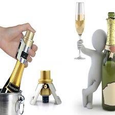 Double Locking Steel Champagne Seal Wine Bottle Cap Stopper Plug Sealer Bar Cork