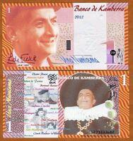 Kamberra, Kingdom, 1 Numisma, 2012, UNC > Louis de Funes