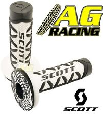 Scott Diamond Black White Grips Donuts Medium Soft Waffle Yamaha YZ YZF WR WRF