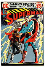 Superman #254 7.5 Cream To Off-White Pages Bronze Age Neal Adams
