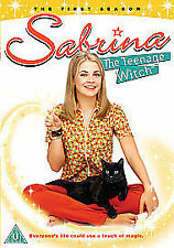 Sabrina the Teenage Witch Complete Season 1 DVD Series Brand New UK Original R2