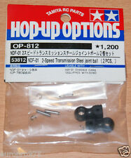 Tamiya 53812 NDF-01 2 Speed Transmission Steel Joint Ball (2 Pcs.) (Nitro Force)