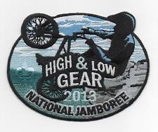 2013 National Jamboree High & Low Gear (BMX) Biking Patch, Mint!