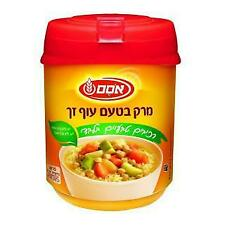 Instant Clear Chicken-Flavored Soup – All Natural Ingredients Kosher Parve 400gr