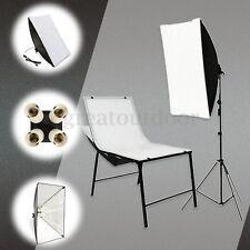 New Photo Studio Lighting Softbox 50*70cm/+ 4in1 E27 Socket Lamp Head European