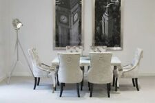 Glass Up to 6 Seats Contemporary Dining Tables Sets