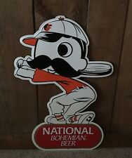 NIB National Bohemian Natty Boh Baltimore Orioles Sign MLB Baseball Metal Sign