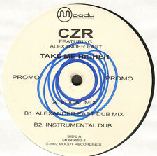 Czr - Take Me Higher - Feat Alexander East - Moody