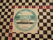 Imposta ITALIANO DISCO 1961-FIAT 500 600 126 LANCIA BETA GIULIETTA ALFA GTV6 ABARTH