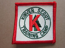 Kinver Scout Training Camp Cloth Patch Badge Boy Scouts Scouting (L2K)