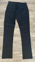 Jigsaw Black Stretch Straight Fit Jeans Uk 10 L31 Sample Pair See Description