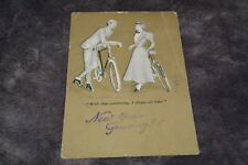 1900's Postcard New Year Greetings ! Marcus Wards Series No. 41