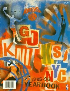 1995-96 New York Knicks Official Team Yearbook