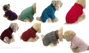Le Petit Chien Brand Small Dog Sweater Puppy Clothing Pet Supply