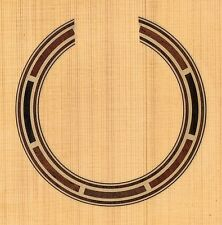 CLASSICAL GUITAR  ROSETTE,SOUND HOLE, WATERSLIDE DECAL/STICKER (HB-129)