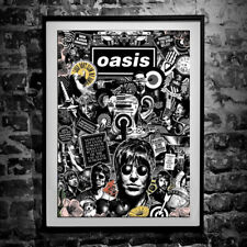 More details for oasis poster - wall art print