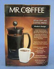 Mr Coffee French Press 20 oz Glass Carafe Sunbeam