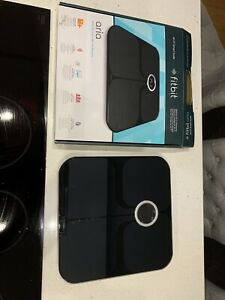 FITBIT Aria WiFi Smart Scale - Black. BMI, Fat%, BMI