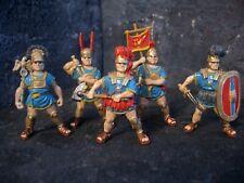 Roman warriors hand painted plastic soldiers set