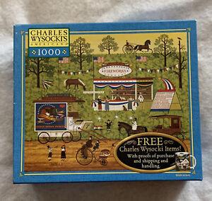 Hasbro Charles Wysockis 1000 Piece Jigsaw Puzzle 22 9/32 X 25 9/16 Bang Boom Bam