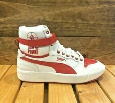 Puma Sky LX Public Enemy Sneakers - White Red - Men's Shoes - 374538-01