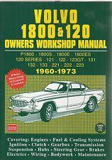 VOLVO Amazon y P1800 1800S 1800E Coupe 1800 es 1960-73 propietarios taller Manual