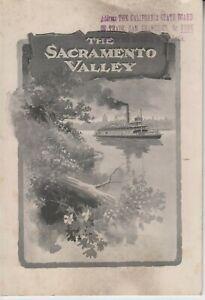 """Booklet""""The Sacramento Valley"""", 1902"""