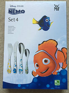 WMF Disney Finding Nemo 4 Piece Stainless Steel Cutlery Set