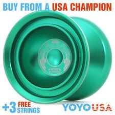 Duncan Wind Runner Metal Yo-Yo YoYo  - Green 9256SE-H + FREE STRINGS
