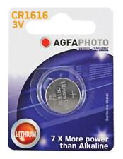 Agfa Lithium Button Cells Blister of 1 (Type CR1616)