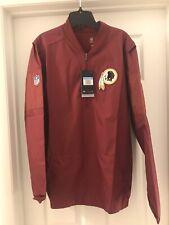 Washington Football Team Redskins Nike Sideline Half Zip Jacket Nwt Med! Jersey