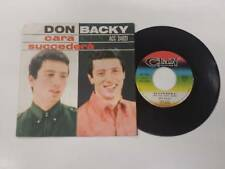 DON BACKY CARA - SUCCEDERA' 7'' 45 GIRI 1964